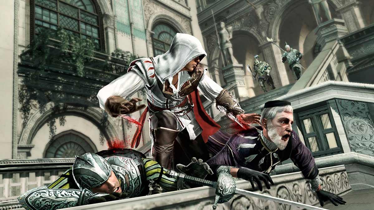 Разработчик рассказал, как первая Assassin's Creed стала хоррором. В неё всего лишь сыграл сын главы компании