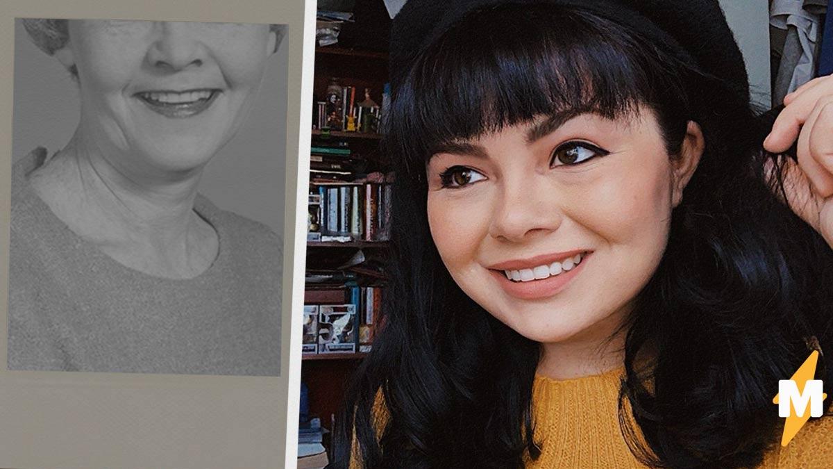 Внучка получила бабушкино лицо - и дело не в фотошопе. Просто гены в этой семье научились делать copy и paste