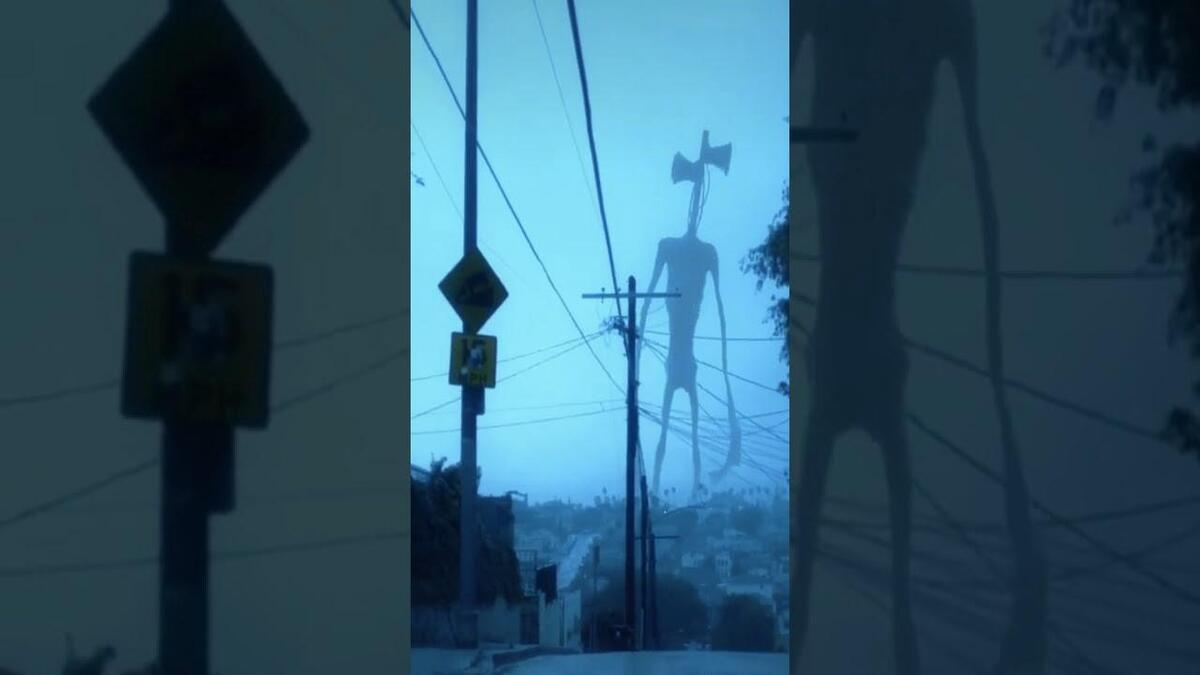 Огромный сиреноголовый монстр Siren Head захватил интернет. Но фанаты Fallout 4 знают гуманоида в лицо
