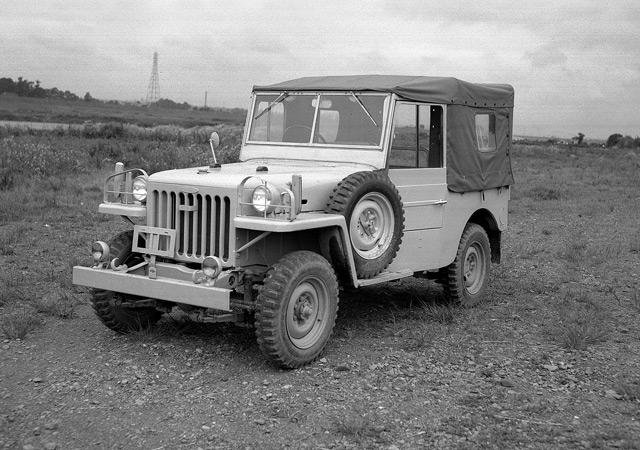 Внедорожник BJ Toyota Jeep